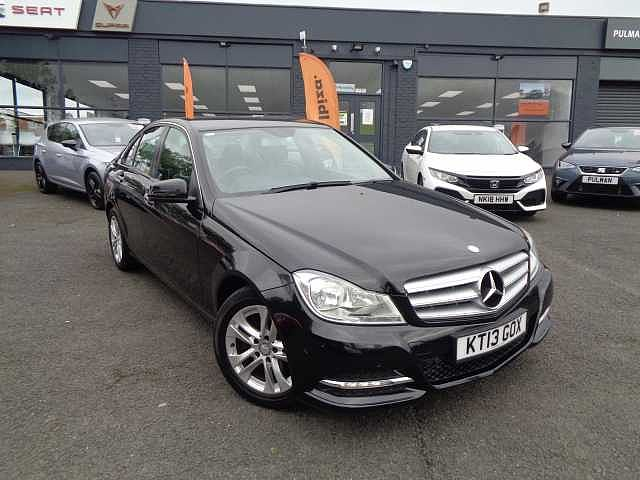 MERCEDES-BENZ C-Class 1.6 C180 Executive SE 4Dr Saloon